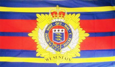BRITISH ROYAL LOGISTIC CORPS - 5 X 3 FLAG